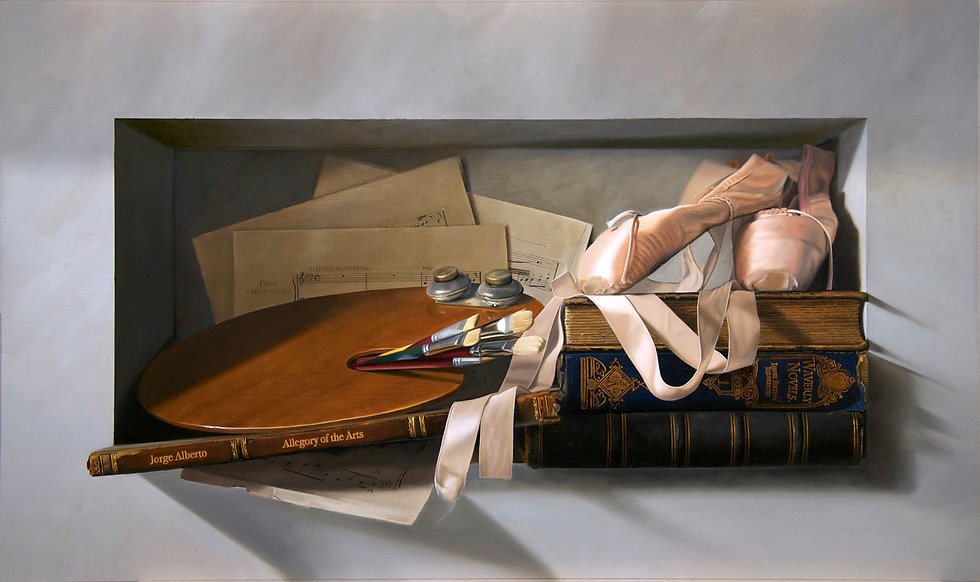 Jorge Alberto Gonzalez, fine artist in Baltimore. Maryland
