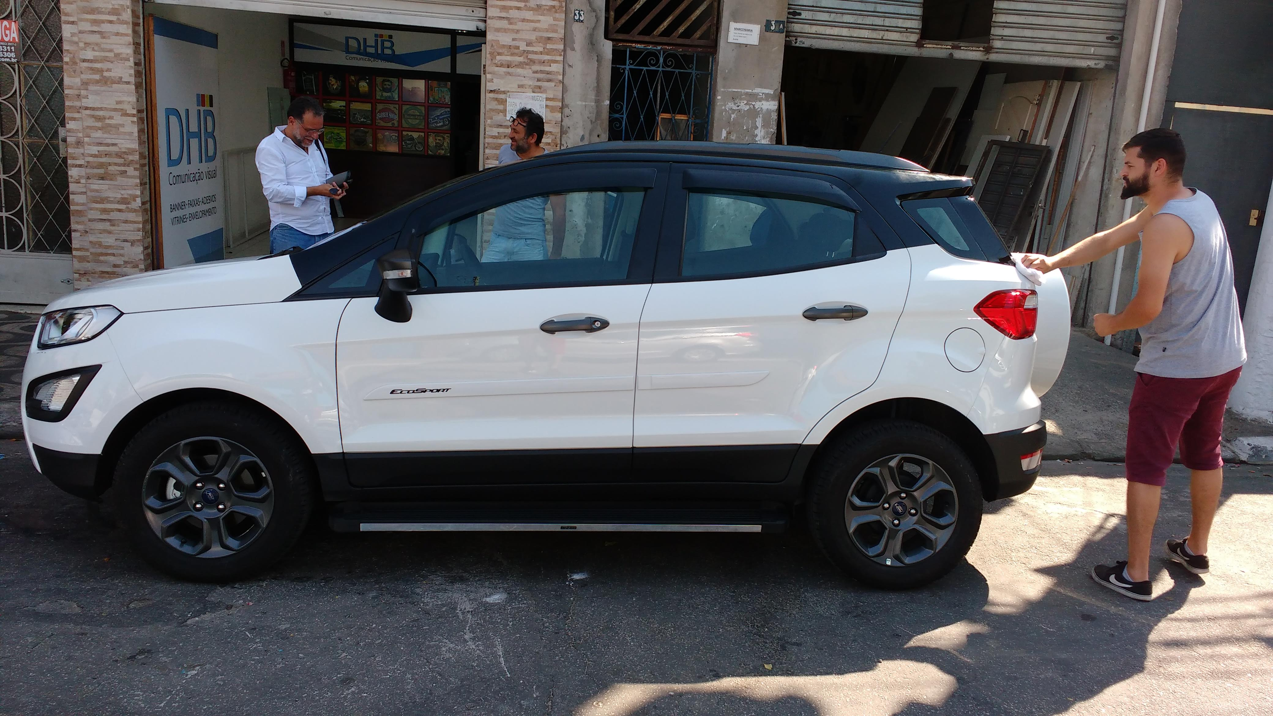Teto Black Piano Ecosport