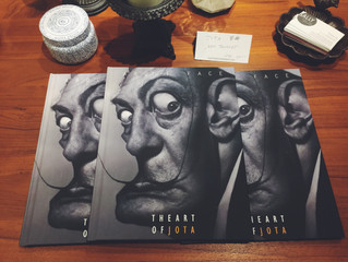JOTA LEAL來啦!2015 ABOUT FACE  全新精裝畫冊限量抵台