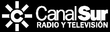 Logotipo Canal Sur Blanco