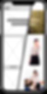 Mockup tienda online wireframe mobile
