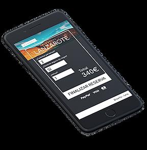 iPhone - Finalizar reserva