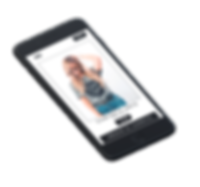 Mockup tienda online producto mobile