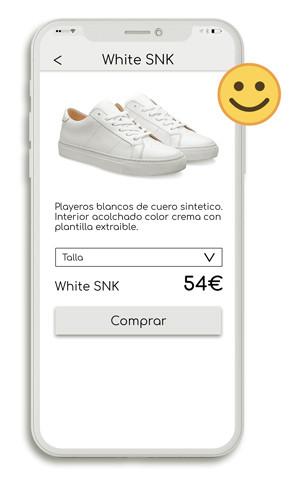 Usabilidad mejorada iphone