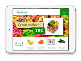 Diseño de tiendas online responsive ipad