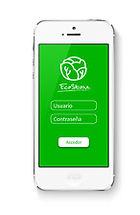 Diseño de aplicación móvil login iphone