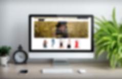 Mockup tienda online desktop