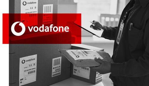 Mockup almacen productos vodafone