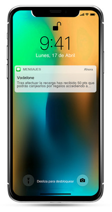 Mockup sms