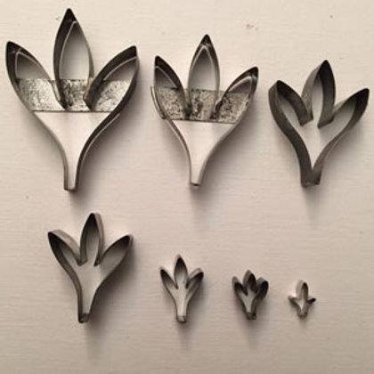 Tripple Leaf Set Of 7