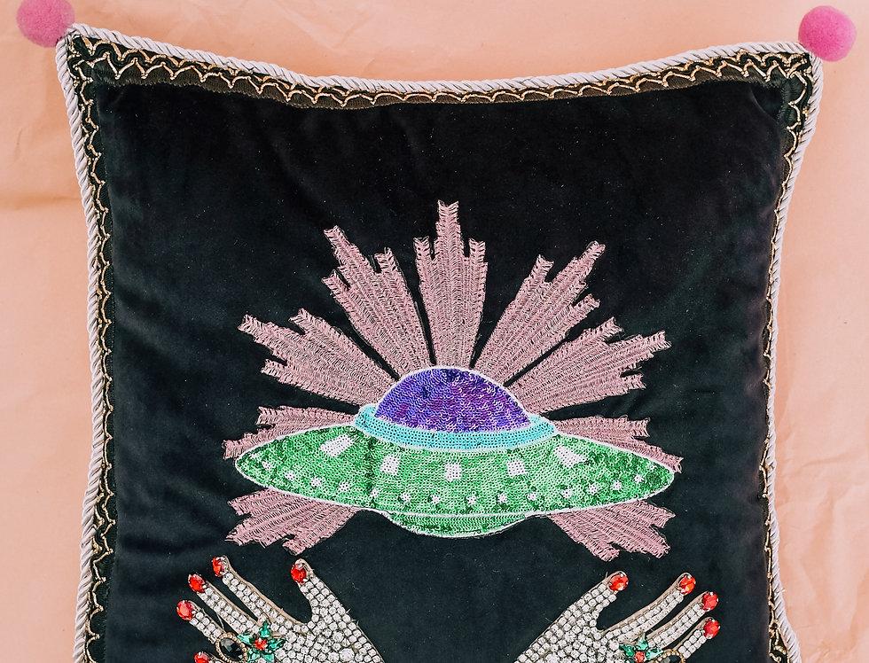Revolverhotel Hands Planet Cushion