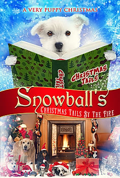 Snowball's Christmas Tails By The Fire