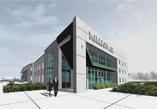 Million Air Facility - Architect's Rendering