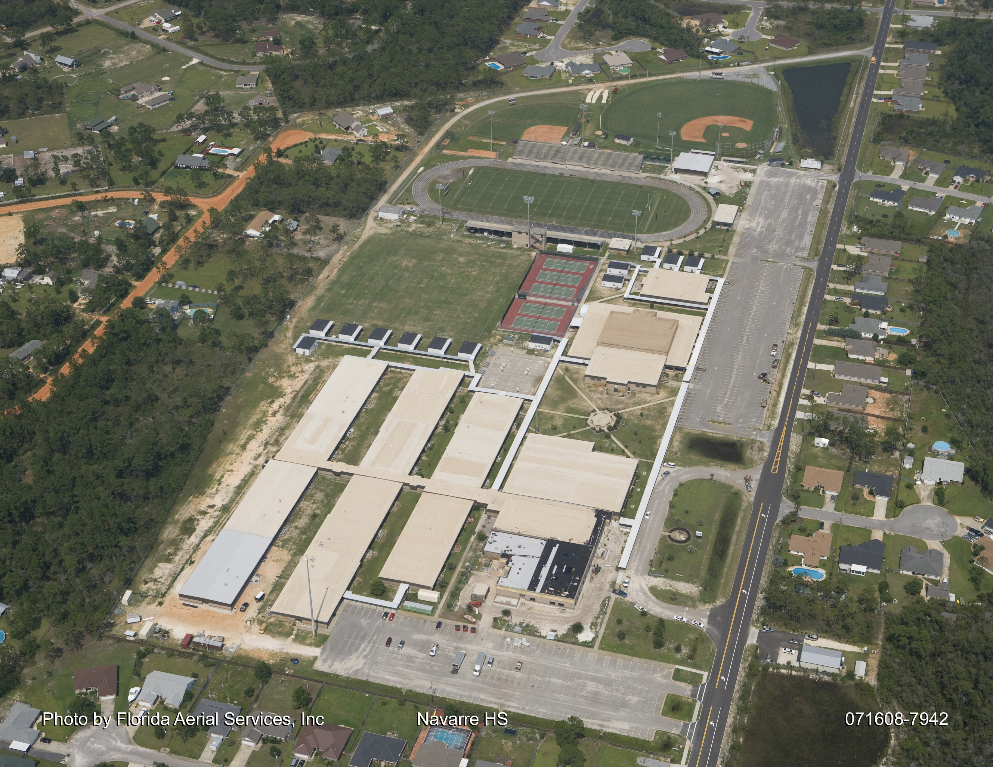 Navarre High School Aerial