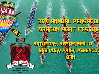 SCG @ 3rd Annual Pensacola Dragon Boat Festival 2016