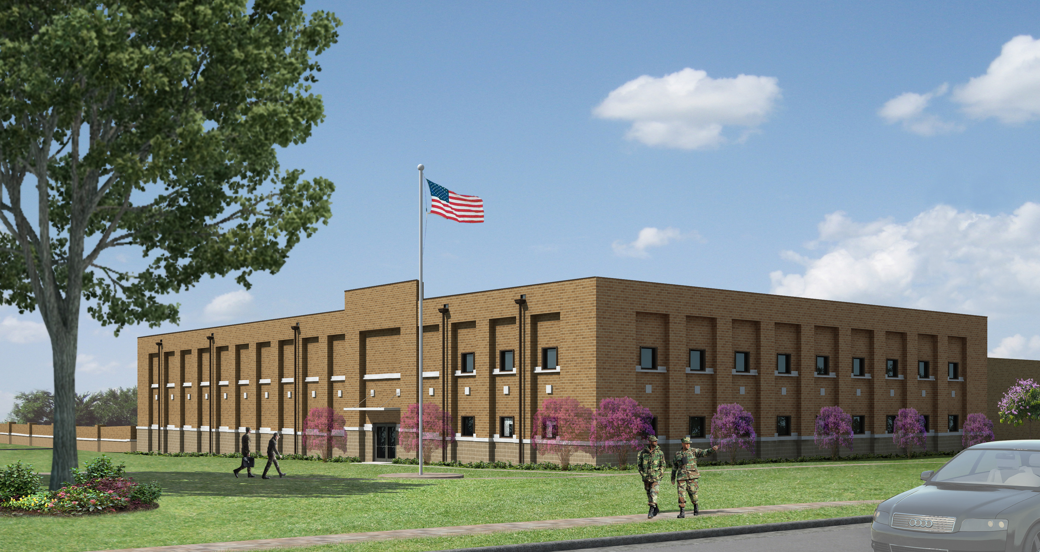 Shaw AFB USAFCENT - Architect's Rendering