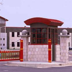 Biloxi High School Guard Booth