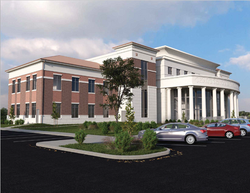Courthouse - Architect's Rendering
