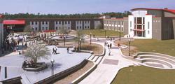 Biloxi High School Courtyard