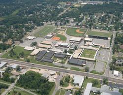 Milton High School Aerial