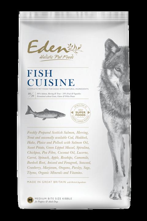 """EDEN 80/20 """"Fish Cuisine"""""""