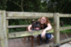 Sarah with MAX.JPG