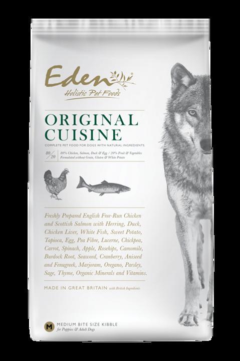 """EDEN 80/20 """"Original Cuisine"""""""