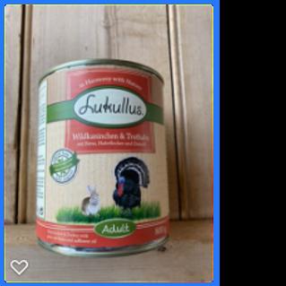 Lukullus Wet Dog Food (800g)