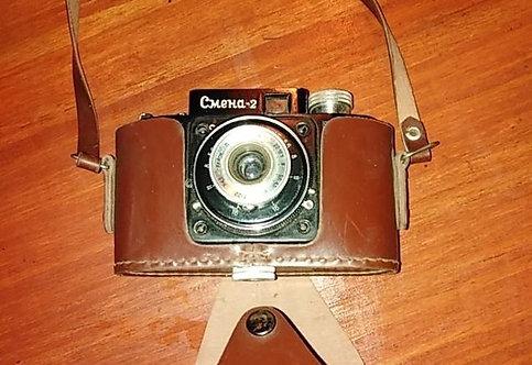 Фотоаппарат смена 2 СССР