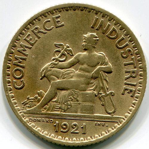 Франция. 1 франк 1921 год.