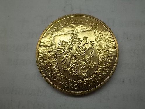 Польша 2 злотых 2004 года. Воеводство Куявско-Поморское.