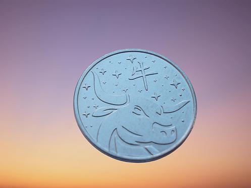 Приднестровье 1 рубль 2020г Год Быка, Китайский гороскоп 2021г UNC