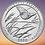 Thumbnail: США 25 центов 2020г 55 парк Национальный заповедник Толлграсс-Прери UNC