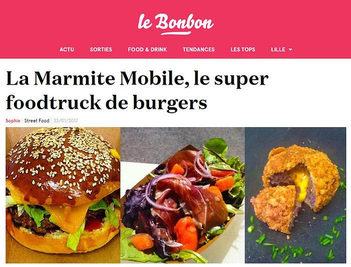 Article Le Bonbon La Marmite Mobile