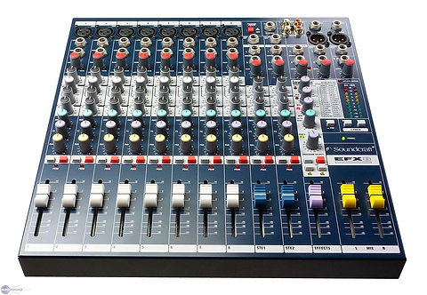 Table de mixage Soundcraft EFX8