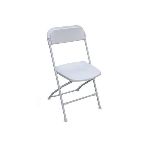 Chaise pliante en plastique
