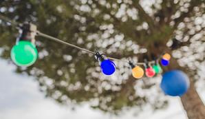 Guirlande lumineuse multicolor
