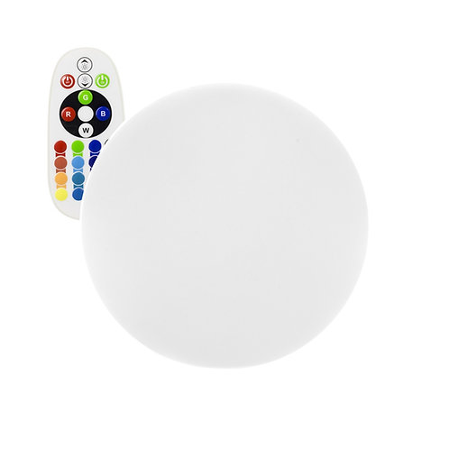 Sphère lumineuse led multicolore