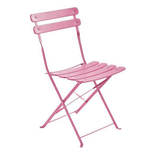 Chaise de jardin couleurs