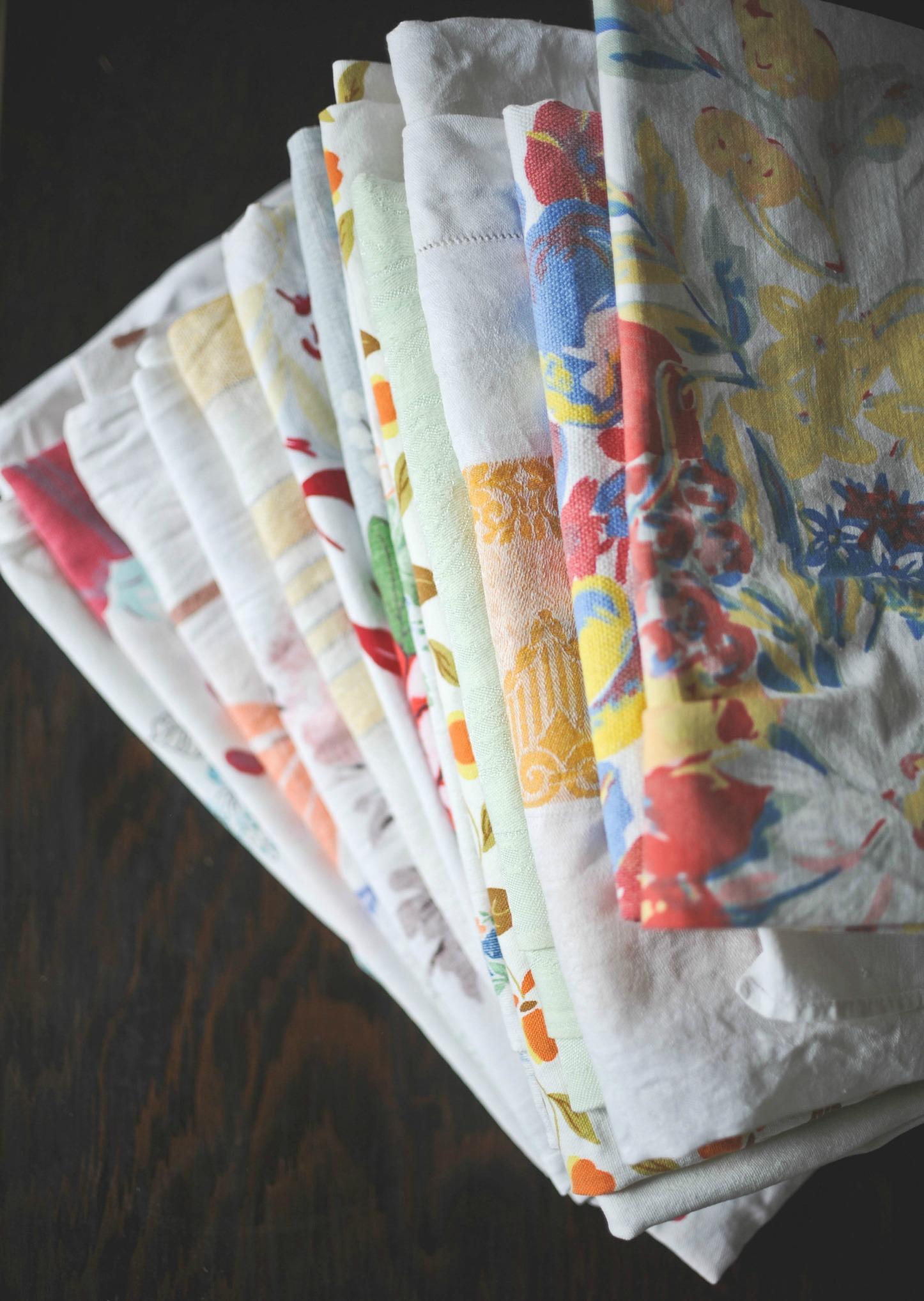 Retro Tablecloth - $8