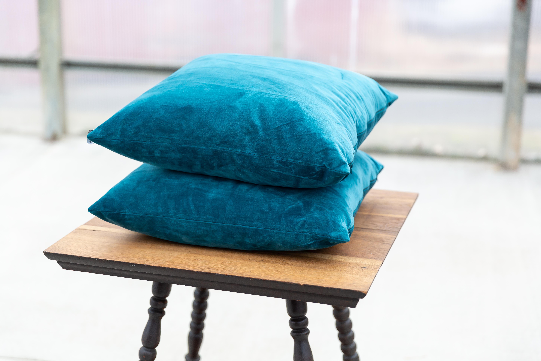 Teal Pillows - $8
