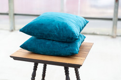 Teal Pillows - $8