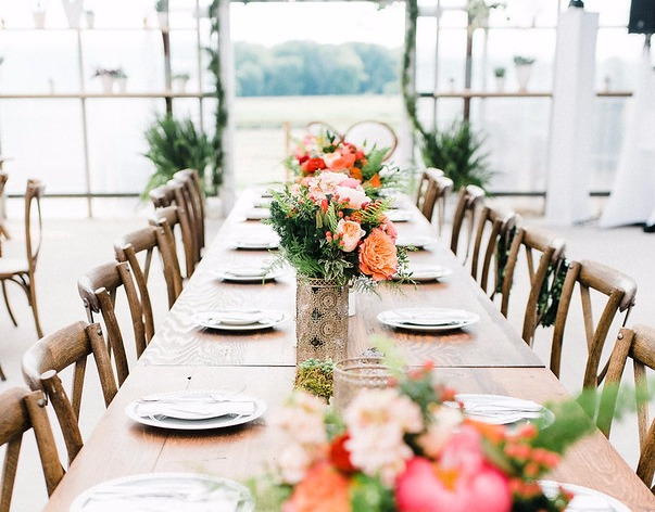 Harvest Tables set with XB Chairs