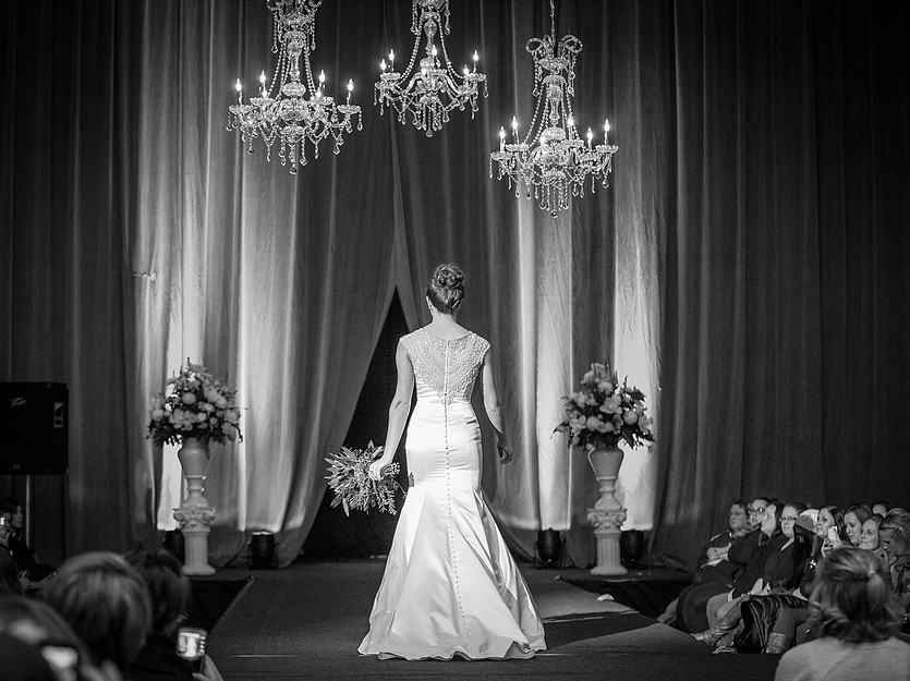 Chandeliers at LaX Bridal Expo