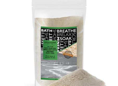 Aloe Vera Bath Salt for Problem Skin