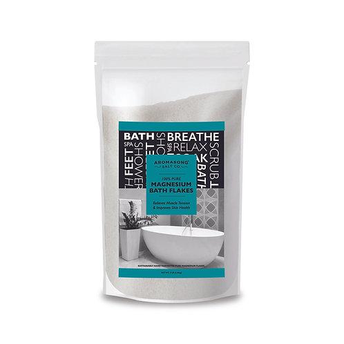 AROMASONG Magnesium Bath Flakes  - Resealable Large BAG