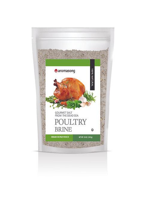 HERBS DE PROVENCE Dry Turkey Brine Bulk Bag of 2 .43 LBS