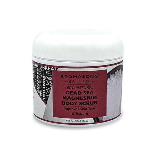 AROMASONG Magnesium Body Scrub, 9 Fluid Ounce