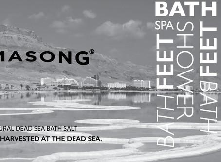 Dead Sea Salt is Deeply Hydrating