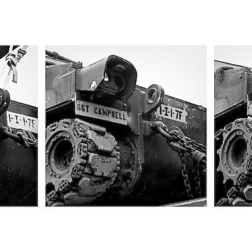 Tank Train New Orleans / Second Gulf War